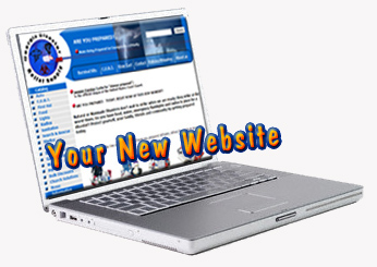 your new custom designed website