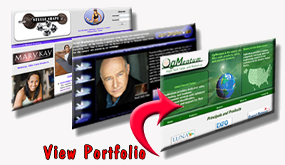 custom designed business websites